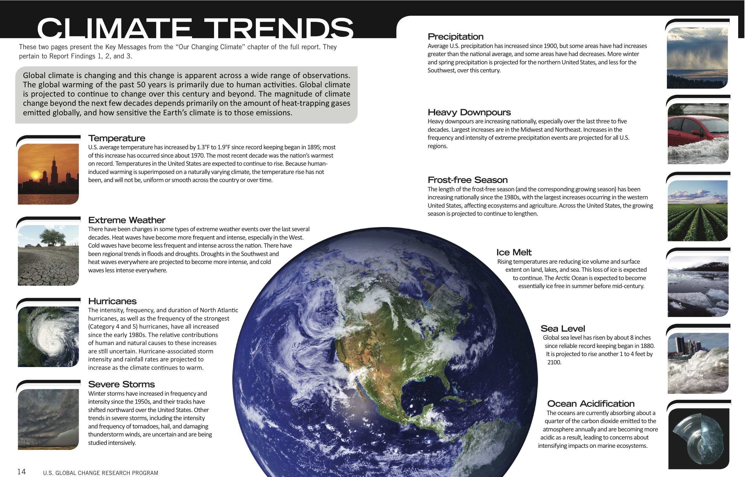 An analysis of global warming climate change