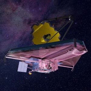 Artist's impression of NASA's James Webb Space Telescope.