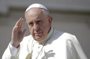 Pope Francis at the Vatican, 17 June 2015 (Reuters)