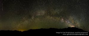Milky Way over Great Sand Dunes National Park, Colorado. (Photo by Carl Fredrickson)