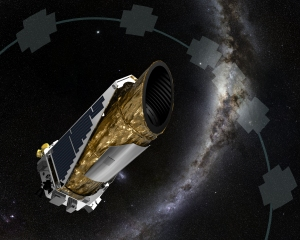 Artist's conception of NASA's Kepler spacecraft. (Image credit: NASA/Ames/JPL-Caltech)