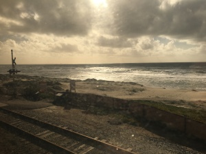 I took this photo from my comfortable window seat on Amtrak's Pacific Surfliner train.