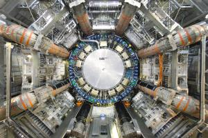 Physicists have used the Large Hadron Collider's ATLAS experiment to probe for potential dark matter particles. (Credit: CERN)